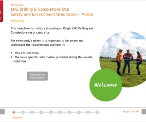 Origin Energy – Site inductions